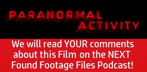 Promo - Podcast - Paranormal Activity (2007)
