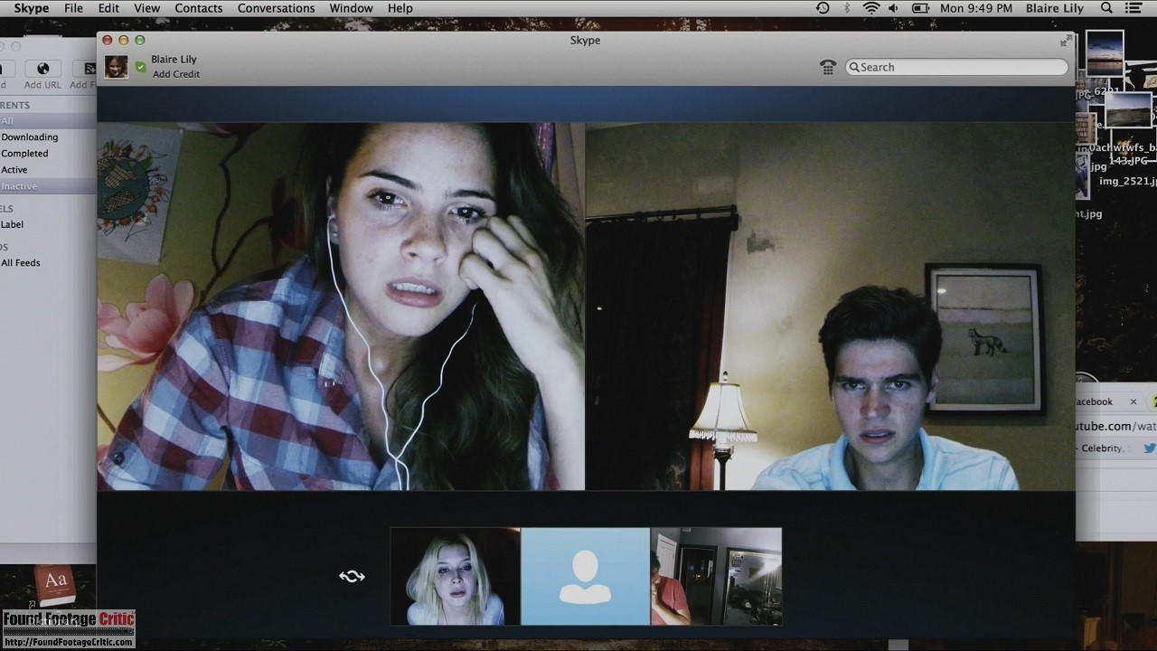 Unfriended (2014) - Found Footage Films Movie Fanart (Found Footage Horror)