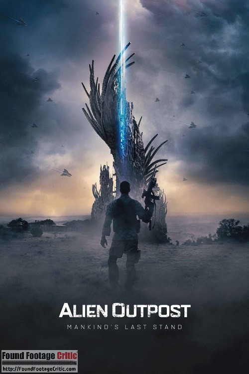 Alien Outpost (2014) - Found Footage Films Movie Poster (Found footage Horror)