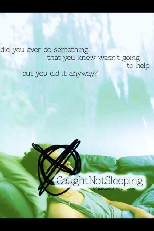 Caught Not Sleeping (2011) - Found Footage Film Movie Poster (Found Footage Horror)