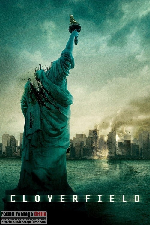 Cloverfield (2008) - Found Footage Films Movie Poster (Found Footage Horror)