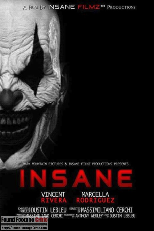 Evil Clown Found Footage Horror Film INSANE for 2016 ...