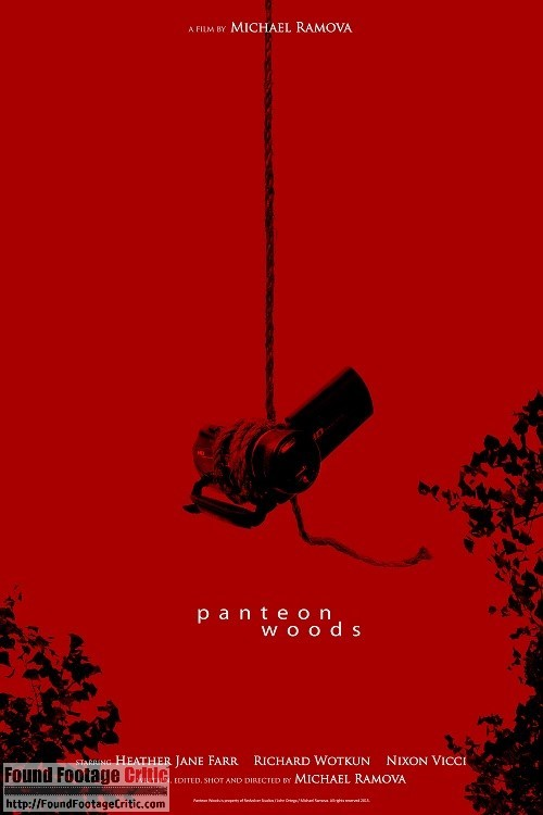 Panteon Woods (2015) - Found Footage Films Movie Poster (Found Footage Horror)