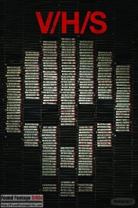 V/H/S (2012) - Found Footage Films Movie Poster (Found Footage Horror movies)