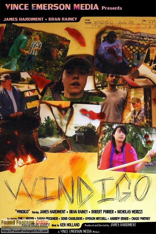 Windigo (2011) - Found Footage Films Movie Poster (Found Footage Horror)