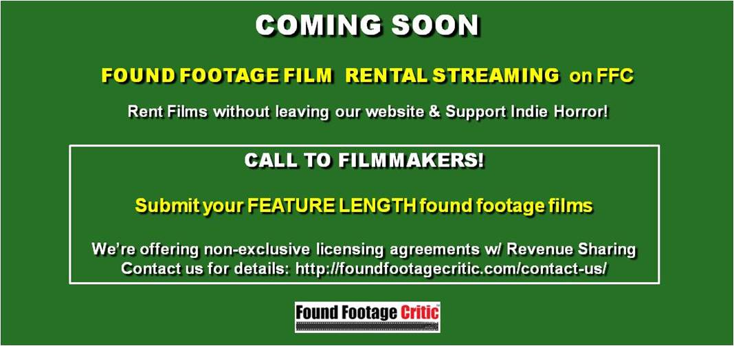 Promotion - Found Footage Films Streaming