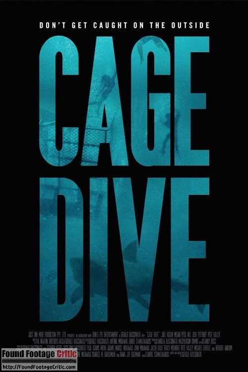 Cage Dive (2017) - Found Footage Films Movie Poster (Found Footage Horror)