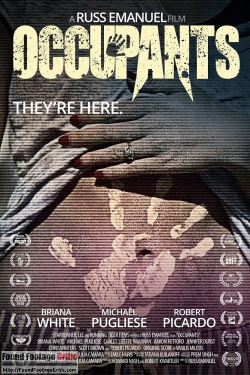 Occupants (2015) - Found Footage Films Movie Poster (Found Footage Horror)