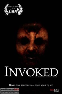Invoked (2015) - Found Footage Films Movie Poster (Found Footage Horror)