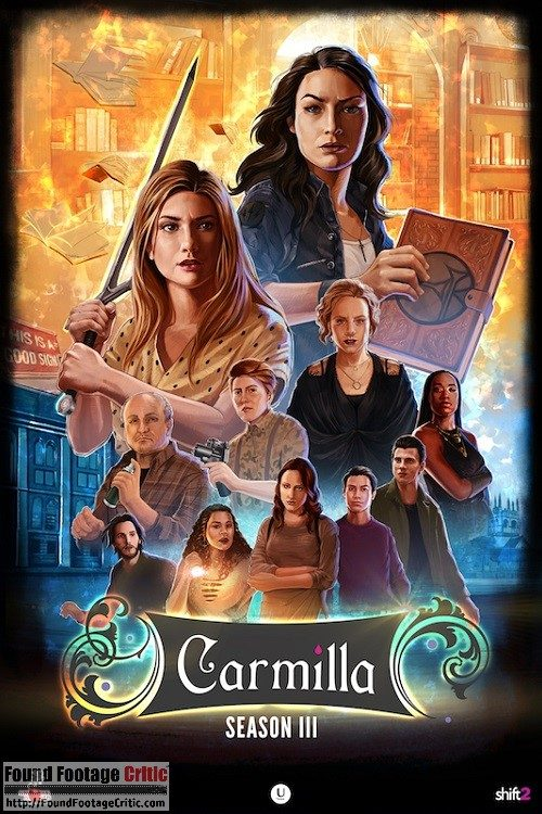 Carmilla (2014) - Found Footage Films Movie Poster (Found Footage Horror)