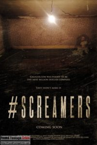 #Screamers (2016) - Found Footage Films Movie Poster (Found Footage Horror)