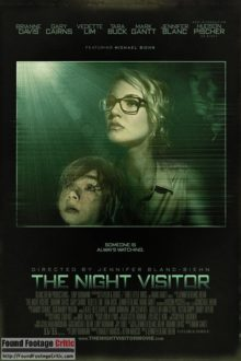 The Night Visitor (2013) - Found Footage Films Movie Poster (Found Footage Horror)