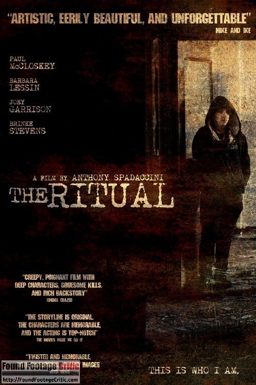 The Ritual (2009) - Found Footage Films Movie Poster (Found Footage Horror)