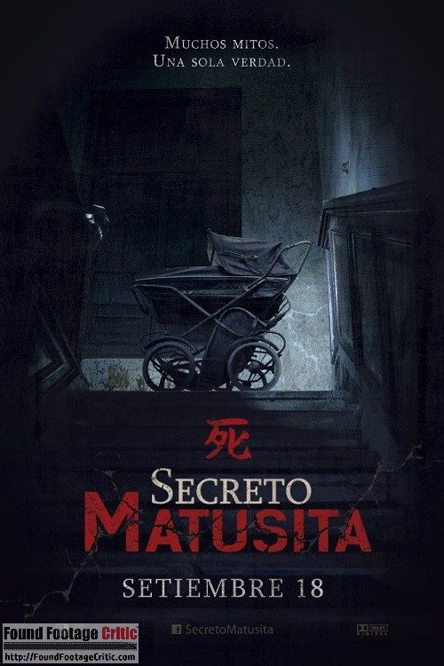 Secreto Matusita (2014) - Found Footage Films Movie Poster (Found Footage Horror)