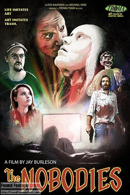 The Nobodies (2017) - Found Footage Films Movie Poster (Found Footage Horror Movies)