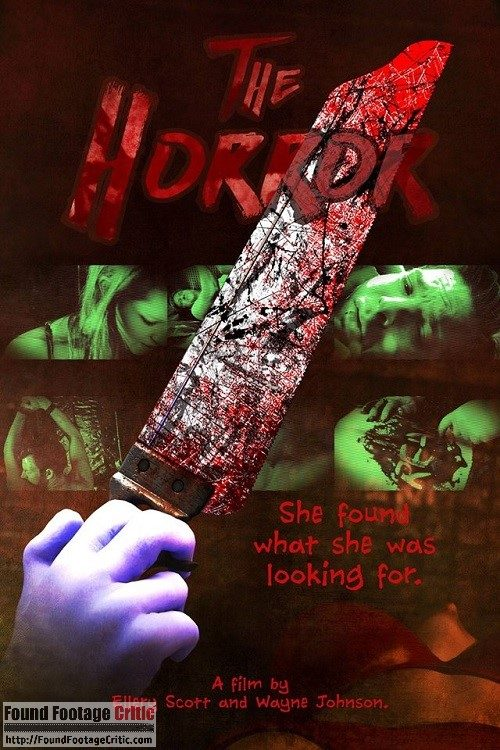 The Horror (2017) - Found Footage Films Movie Poster (Found Footage Horror Movies)