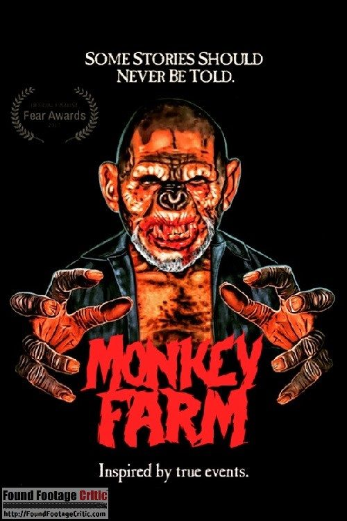 Monkey Farm (2017) - Found Footage Films Movie Poster (Found Footage Horror Movies)