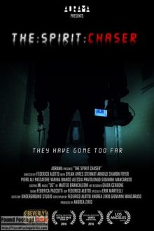 The Spirit Chaser (2016) - Found Footage Films Movie Poster (Found Footage Horror Movies)