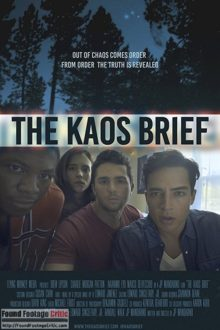 The KAOS Brief (2017) - Found Footage Films Movie Poster (Found Footage Horror Movies)