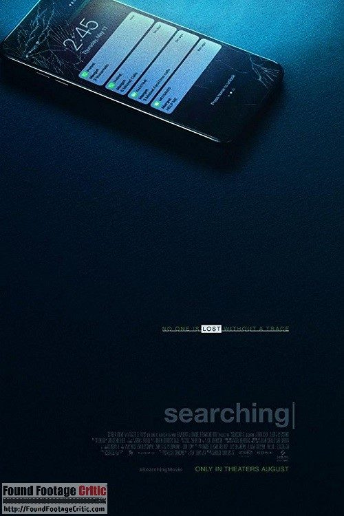 Searching (2018) - Found Footage Films Movie Poster (Found Footage Horror Movies)