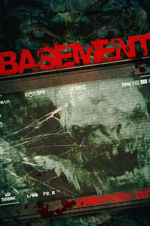 Basement: Director's Cut (2017) - Found Footage Film Movie Poster (Found Footage Horror Movies)