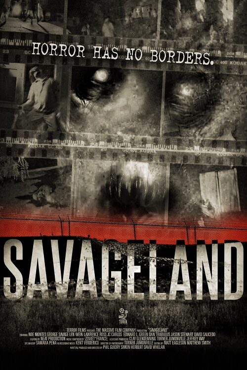 Savageland (2015) - Found Footage Films Movie Poster (Found Footage Horror Movies)