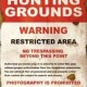 Hunting Grounds (2009) - Found Footage Films Movie Poster (Found Footage Horror)
