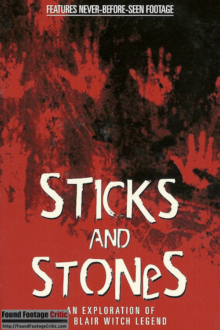 Sticks and Stones: An Exploration of the Blair Witch Legend (1999) - Found Footage Films Movie Poster (Found Footage Horror)