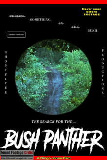 The Search for the Bush Panther (2020) - Found Footage Films Movie Poster (Found Footage Horror Movies)