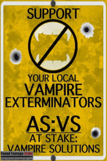 At Stake: Vampire Solutions (2012) - Found Footage Films Movie Poster (Found Footage Comedy Movies)