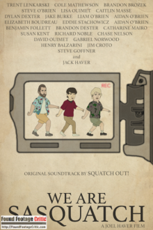 We Are Sasquatch (2017) - Found Footage Films Movie Poster (Found Footage Comedy Movies)